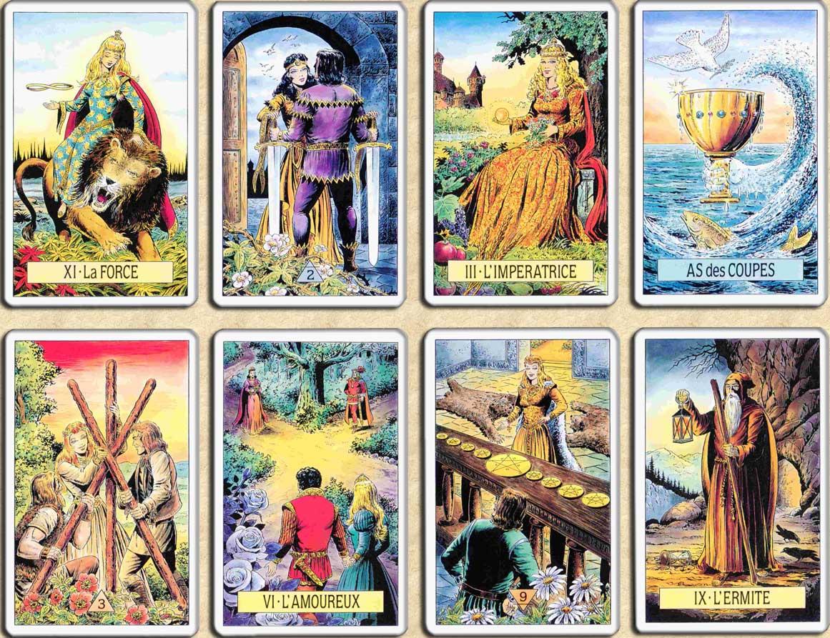 Tarot GRATUIT  un tirage en ligne des cartes du tarot de Marseille pour  effectuer des consultations voyance à laide des cartes divinatoires. f10a8f1c0351